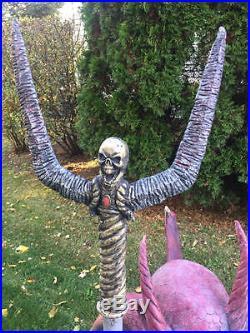 Lifesize Kneeling Crouching Devil Demon Spirit Halloween Prop