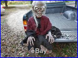 Lifesize Tales From The Crypt Cryptkeeper Animated Halloween Prop Crypt Keeper