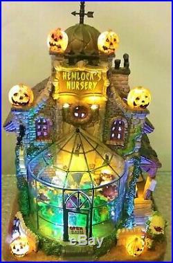 MINT in Box RETIRED Hemlock's Nursery, #45661 Lemax Spookytown Halloween