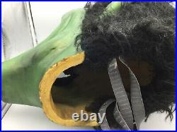 Mascot witch goblin costume head