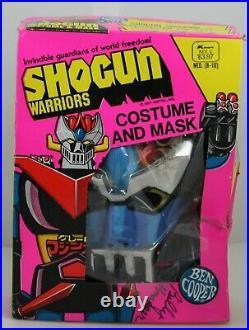 Mazinger SHOGUN WARRIOR Costume Ben Cooper Mattel MEDIUM