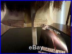 Michael Myers Cinema Secrets Official Latex Halloween Mask with Tag- Mint