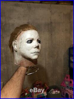 Michael Myers Mask Don Post Studios 98/99 SHAT H2 RARE