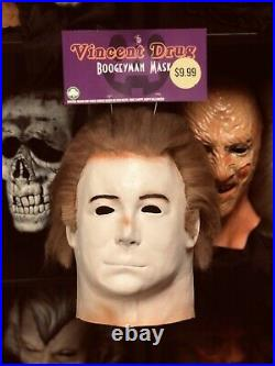 Michael Myers Mask Halloween 4 Mask Vincent Drug Mask Halloween Mask