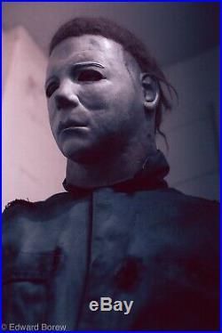 Michael Myers Mask Ken Hertlein Dick Warlock JC Halloween 2 replica #21 RARE