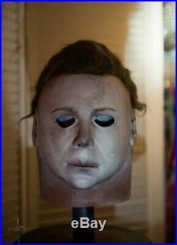 Michael Myers Mask Nightowl NMM78 1 Stamp By JC Halloween NOT Don Post