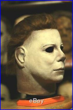 Michael Myers NAG / AHG RARE Kirk Halloween Mask ALL HALLOWS GHOST not jason