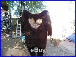 Movie Quality Sasquatch/ Bigfoot Costume