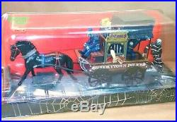 NEW VERY RARE Lemax Spookytown Police Wagon 23944, Halloween Table Accent