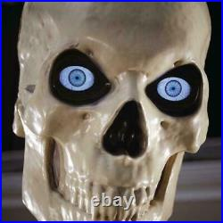 New Home Accents 12 Ft. Giant Sized Skeleton with LifeEyes Home Depot