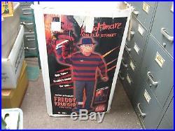 Nightmare on Elm Street 6' Freddy Krueger Animatronic Lifesize Gemmy Prop with Box