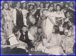 Norway Costume Party Photo Album Halloween Ships Harbor 1917