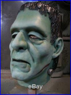 OOAK Custom Don Post Studios 800 line Wide Frankenstein Master Mask Tharp