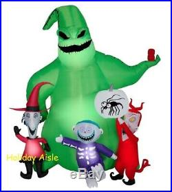 OOGIE BOOGIE WITH LOCK STOCK & BARREL Airblown Yard Inflatable 7 Ft