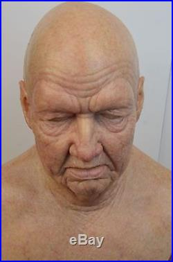 Old man silicone mask (The Judge)