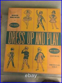 PLA-MASTER Dress Up And Play US Army Vintage 1960s Costume size 6