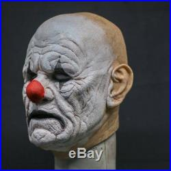 POPSY THE CLOWN Old Man Full Head Silicone Mask by MADNESS FX, not CFX or SPFX