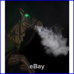 PRE-ORDER! Halloween 7 Ft REAPERS RIDE Haunted Horseman Animated Prop Life Size