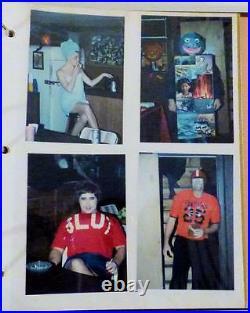Politically Incorrect Halloween Costumes Photograph Album 1980s-90s