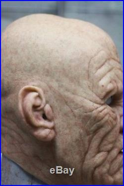 Popsy Old Man Silicone Mask Not SPFX Immortal CFX New Low price