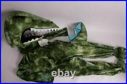 Pottery Barn Kids Light Up T Rex Dinosaur Dino Halloween Costume 3T #2938