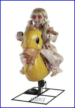 Pre-Order ANIMATED ROCKING DUCKY DOLL Halloween Prop New for 2019 FREE GIFT