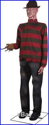 Pre-order Halloween Life Size Animated Freddy Krueger Nightmare Elm St Prop
