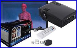 ProFX Projector Kit with Screen Halloween Digital Decoration Window Projection