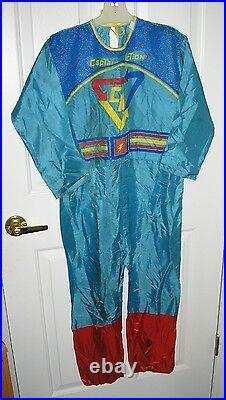 RARE 1966 Ben Cooper CAPTAIN ACTION Halloween Costume Bodysuit No Mask/Box