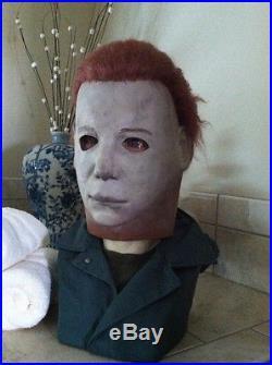 RARE All original KH/DW gold signature #7 michael myers kirk halloween mask