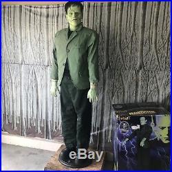 RARE Spirit Halloween LifeSized Boris Karloff FRANKENSTEIN Animatronic Prop