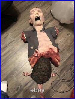 Rare Spirit Eaten Alive Animatronic, Rat Eating The Insides Of Zombie Body