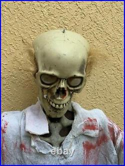 Rare Spirit Halloween Decoration Undead Laboratory Technician Scientist Prop Box
