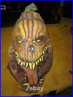 Rare Spirit Halloween Evil Pumpkin Head Full Costume-high Quality, Mask, Arms