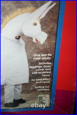 Rare Vintage Collageville 2 Person Donkey Costume Deluxe Adult Size
