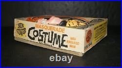 Rare WOLFMAN Halloween Masquerade Costume & Mask 854 Size Med 8-10 by BEN COOPER