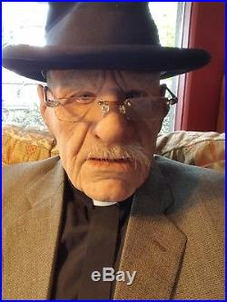 Realflesh Silicone Old Man Mask Sugar Daddy not SPFX NO RESERVE