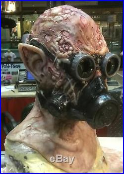 Realistic Professional Silicone Power Mesh Full Cowl Mask Mad Scientist