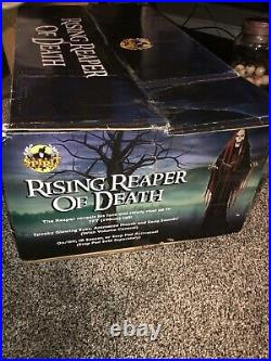 Rising Reaper Of Death Halloween Prop Spirit Halloween Animatronic Gemmy