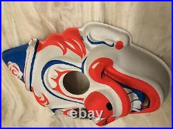 Rob Zombie HALLOWEEN Michael Myers Clown Mask MINT No tears Collegeville 1960's