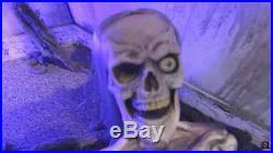 SKELETON ZOMBIE Life-Size Animated Haunted House Halloween Decoration & Prop