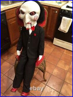 Saw Billy Puppet Annabelle Doll Halloween Prop