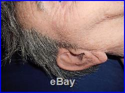 Silicone mask Ready To Ship Realistic Real Flesh Mask Halloween Oriental Old Man
