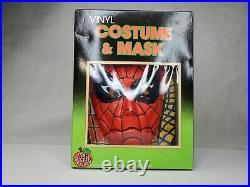 Spider man Halloween Costume Ben Cooper 1989 vintage NOS NM