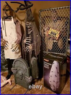 Spirit Halloween Animated Prop Lot Lots of props