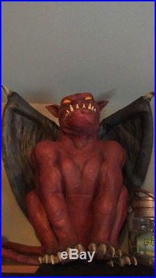 Spirit Halloween Hellhound Latex Prop Gemmy Very Rare
