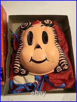 Super RARE Collegeville LITTLE LULU 1957 Halloween Costume in Box Beautiful