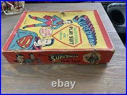 Superman The Official Play Suit Ben Cooper Vintage Complete 5 Piece Set 1950s