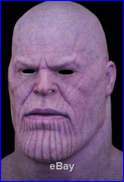 Thanos Inspired Hyper Realistic spfx Silicone Mask Evolution Masks Halloween