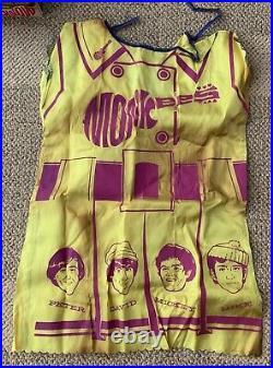 The Monkees Mini-dress Halloween Costume Micky Medium Bland Charnas 1967